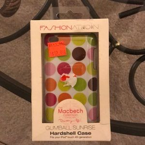 NWT Fashionation iPod Touch hard case😍❤️